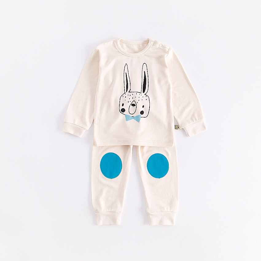 Spring Autumn Baby Toddler Romper Girl Crawling Overall Baby Jumpsuit Cute Clothes Rabbit Print Baby Clothes Long sleeves Cotton<br>