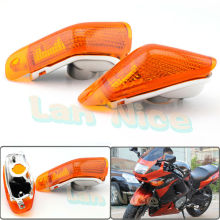 For KAWASAKI ZZR 400 600 ZX600E 1994-2004 Motorcycle Front Turn signal Blinker Lens Amber