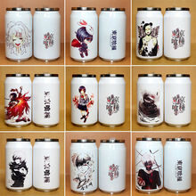 Tokyo ghouls vacuum cup Stainless steel cup Christmas Creative cans Cartoon cup cosplay Free shipping(China)
