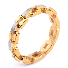 Gear Ring 316 Stainless Steel Ring For Women Or Men Top Quality Wholesale Jewelry Supplier(China)