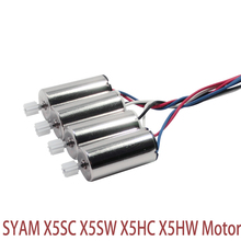 SYMA X5sc X5sw x5hc x5hw rc drone Helicopters motor original motor 4 pcs , 2 A motor + 2 B motor for rc toys parts