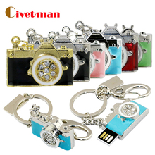 Real capacity Pen drive Camera Cool Metal style 2GB 4GB 8GB 16GB 32GB Pen drive Good quality USB flash drive U Disk mini