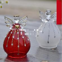 European Blessing Angel Red Glass Wedding Gifts Home Decoration Christmas Art Free Shipping