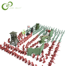 238pcs/set 1:72 lifelike mini military equipment plastic soldier model toys for boy best brinquedos gift for kids GYH