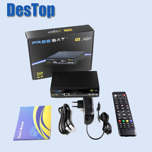 V8 Super BOX HD Satellite Receiver DVB-S2 Tuner freesat v8 Super Combo Support USB wifi 1pc/lot with DHL shipping(China)