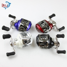 ROSEWOOD 10+1BB 6.3:1 Baitcasting Fishing Reel Low Profile Casting Reel Right/Left Handed Baitcaster Reel Red/Blue/White/Black