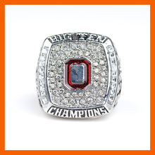 NEW 2009 OHIO STATE BUCKEYES MEN'S FOOTBALL BIG TEN CHAMPIONSHIP RING US SIZE 11(China)