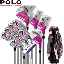 Brand POLO. Ladies golf clubs complete golf sets Women womens female golf clubs complete full set(China)