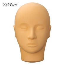 3D Mannequin Head Permanent Makeup Eye Lip Practice Skin Tattoo Silicone Training Model