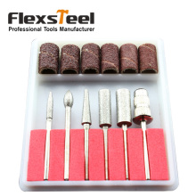 12pcs Nail Drill Kit Bits File Sanding Paper Roll Band Abrasives Tools For Electric Drills Filling System Manicure Nail Art(China)