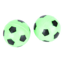 Small Kid Outdoor Ball Toys Bouncing Football Soccer Ball Rubber Elastic Jumping(China)