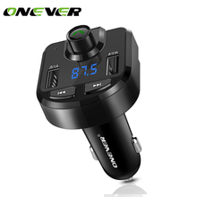 New FM Transmitter Bluetooth 4.0 Car Kit Modulator 3.1A Dual USB Car Charger Support TF Card U Disk Play Music Player DC 12/24V(China)