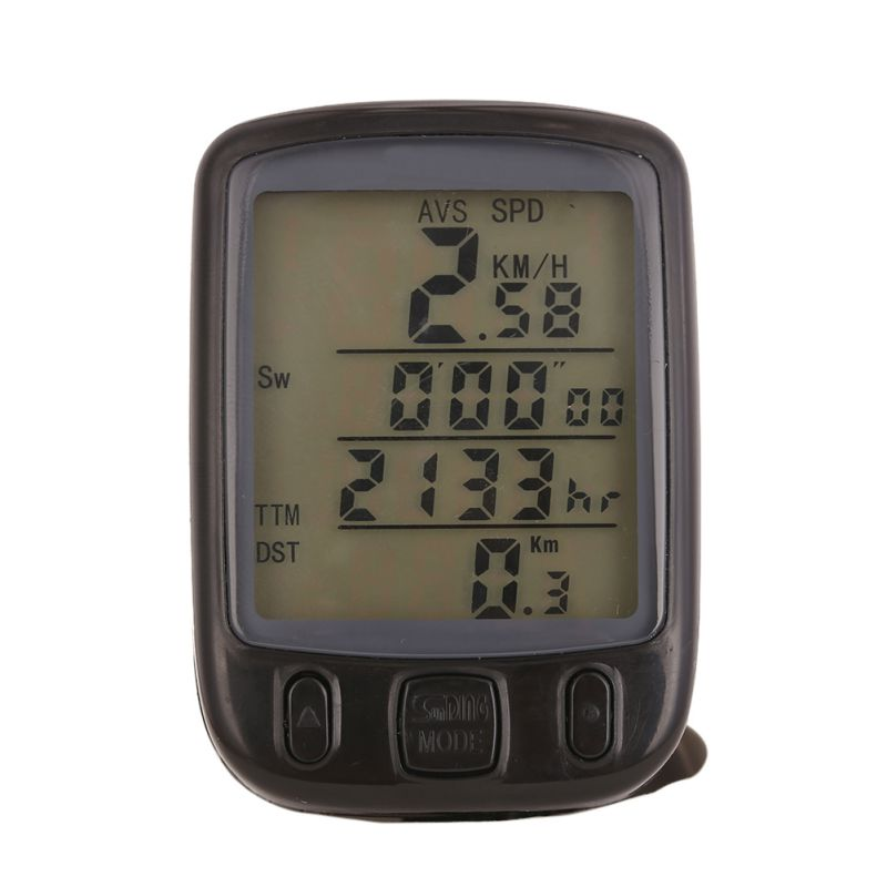 LCD Backlight Bike Computer Waterproof Sunding Bicycle Computer Multifunction Cycling Bike Speedometer Odometer Power Meter 2017(China (Mainland))