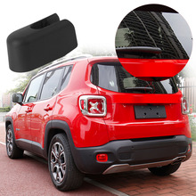 Car Rear Windshield Wiper Arm Nut Cover Cap Wiper Cover For JEEP 2009 2015 Car Styling Auto Window Wiper Decoration