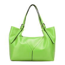 New Arrival 2017 spring fashion neon color one shoulder female women's handbag, stylish bags women brand name designer handbag(China)