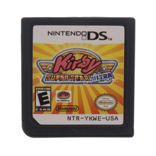 Nintendo NDS Video Game Cartridge Console Card Kirby Super Star Ultra  English Language USA Version