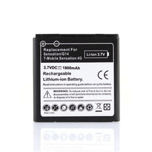High Quality 3.7V 1800mAh Li-Ion Phone Battery Replacement Batteries For HTC EVO 3D Sensation G14 Z710e