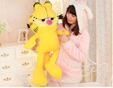 hot sell movie anime Garfield plush soft stuffed doll toy for kids boys and girls gifts 65cm