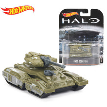 Hotwheels Retro Entertainment Halo UNSC Warthog UNSC Gungoose UNSC Scorpion Vehicle 1:64 Scale Car Collection Model Toys DMC55(China)