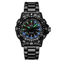 Outdoor sports military Swiss watches men Top luxury brand Luminous Multifunction Rotary Dial Compass Alloy Silicone men watches