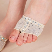 New Style Comfort Diamond Foot Thong Toe Undies Dance Paws Half Lyrical Ballet Shoe Forefoot Cover Hot Sale(China)