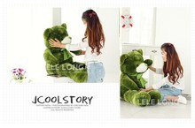 about 60 cm green teddy bear plush toy bear doll gift w4894(China)