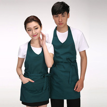 Women Men Long Apron Kitchen Cooking Apron Cafe Restaurant Chef Pinafore Waiter Waitress Bib Household Cleaning Tools