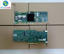 server work station Adapter network lan card for LSI 8708EM2 SAS RAID Controller card support raid 0, 1, PCI-e 8X 128M(China)