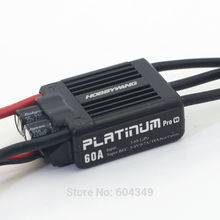 HobbyWing Platinum PRO V4 60A ESC (3S-6S) for 450-480 Class Heli (Propeller: 325-360mm) freeshipping(China)