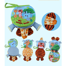 Animal Style Newborn Baby Toys Learning Educational Baby Cloth Books Cute Baby  Mobiles Juguetes Bebe Para Bebe Quiet Baby Book