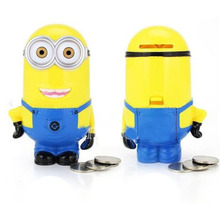 2016 Special Offer Hucha Cofre Porquinho 3d Minions Cartoon Figures Piggy Bank Money Saving Pot Kid Children Gift Toy Al3269(China)