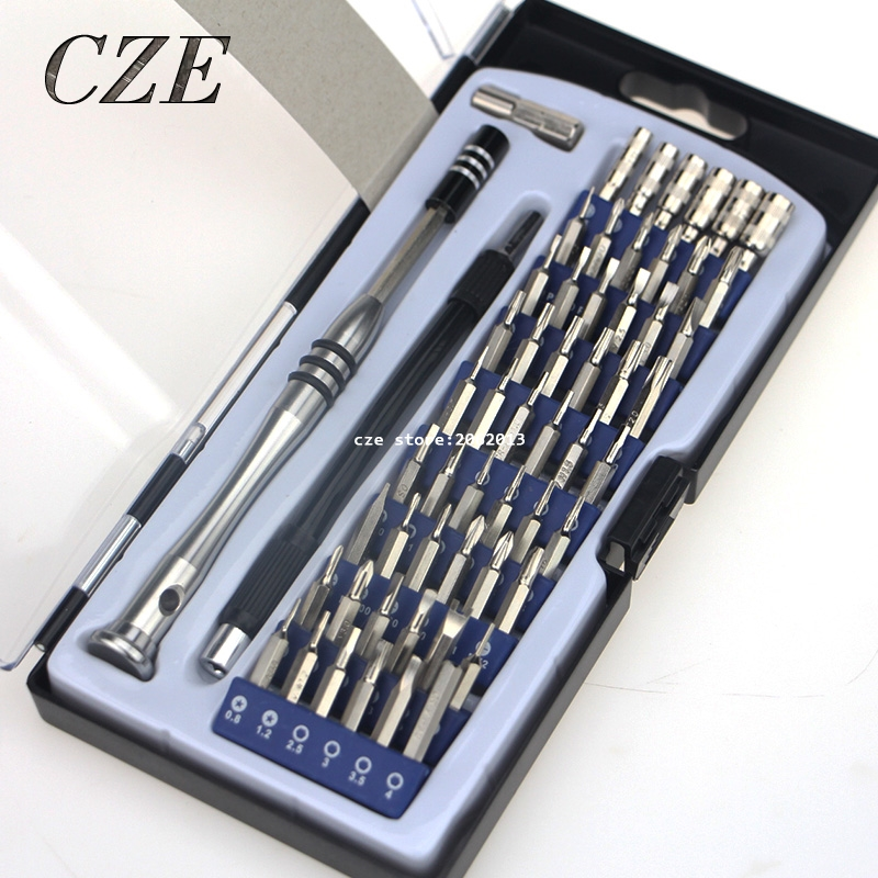 Free Shipping Fashion Design  54 in 1 Precise Manual Tool Set Magnetic Screwdriver set Multifunction Interchange-able (update)<br><br>Aliexpress