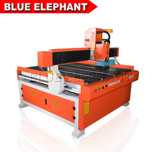Advanced Configuration 1212 woodworking cnc router 1200*1200mm dust collector and vacuum table wood cnc router(China)