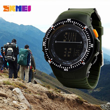Tactical Skmei Military Multifunctional Waterproof Shockproof Watch Durable Outdoor Running Hunting Men Wristwatch Travel Kits - Funanasun Store store