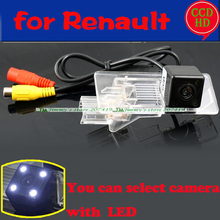 for Renault Fluence 2013 2014 car rear view camera wire wireless parking camera for sony ccd with LEDS night vision waterproof