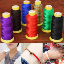 Top Quaity Nylon Silk 0.25 0.5 0.75 1.2mm Beading Wire Cord Thread Line Necklace DIY Bracelet For Jewelry Handcraft Findings(China)