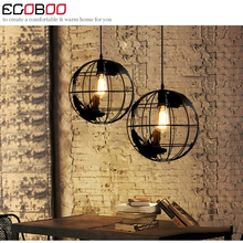 New Arrival Modern indoor decorative Iron pendant light for coffee shop & living room restaurant lighting  110v / 220v