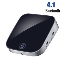 BTI-029 Bluetooth Transmitter 2 In 1 3.5mm Wireless Adapter Apt-X Low Latency HD Audio Receiver for All TV/PC/HiFi Sound System(China)
