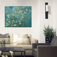 famous Vincent Van Gogh oil painting Almond Blossom reproductions canvas NO frame Museum Handmade reproductions