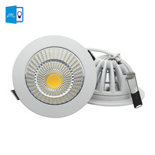 [DBF] Super Bright Dimmable Recessed LED Downlight COB 5W 7W 9W 12W 15W 18W dimming LED Spot light led Ceiling lamp AC 110V 220V(China)