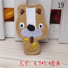 Baby Patch Iron on Patches For baby boy clothes & baby girl clothes Cute Animal Cartoon Dog Logo Brown Free Shipping