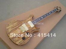 HOT Wholesale burlywood PRS signature Electric guitar with gold pick-up in stock