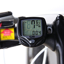 SUNDING Bike Wireless Cycling Computer Bicycle Backlight Speedometer Lcd Bike Computer Cycling Clock Kilometers Accessories(China)