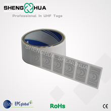 1000pcs/roll 36*22mm Smart Printable UHF RFID Sticker Long Range Paper Roll Tag Passive RFID Label for Logistics Management