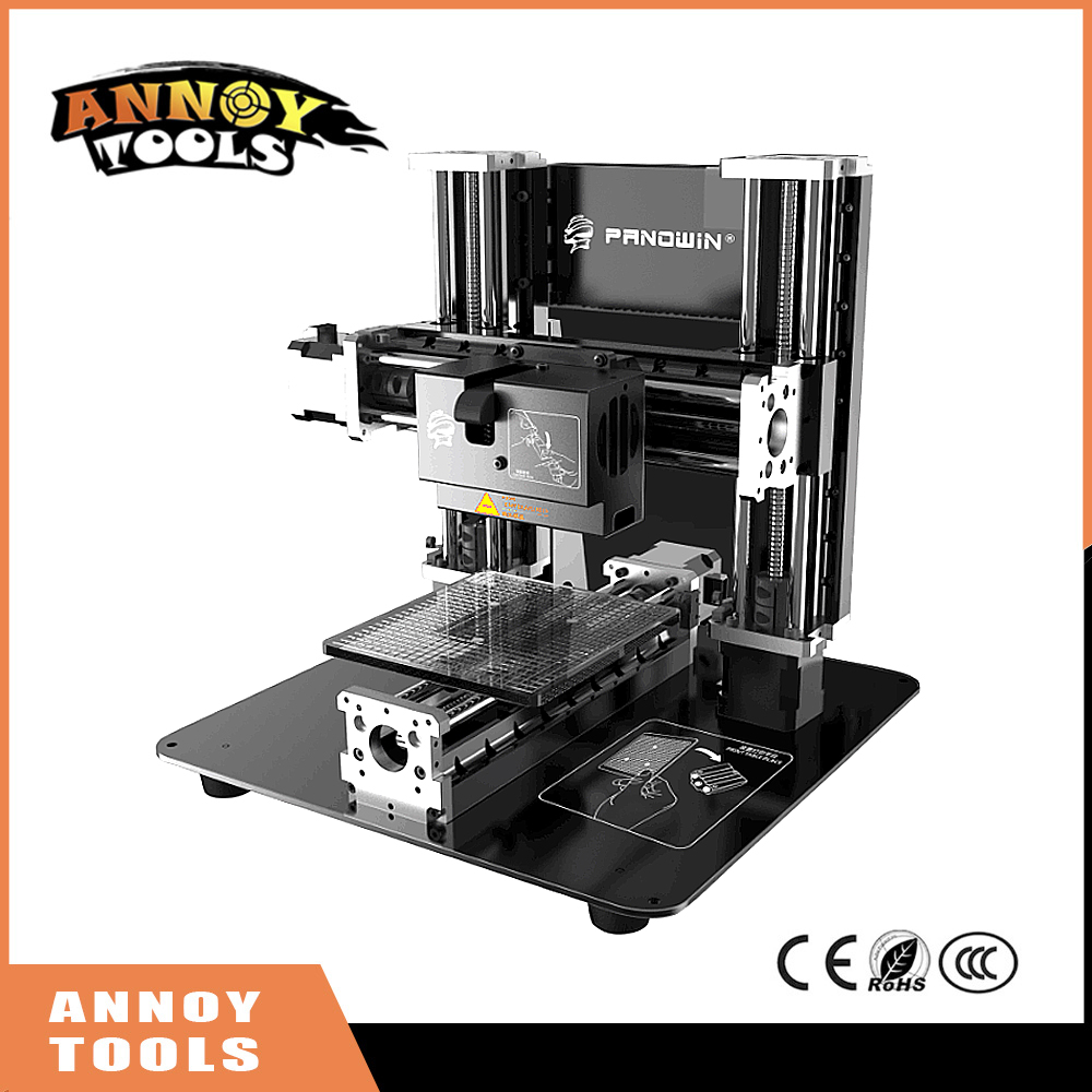 New Panowin F1 3D printer DIY multi-function 3D printer engraving machine with LCD touch screen, 300g consumable item <br>