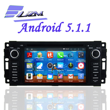 Android 5.1.1 Quad core Car DVD Player Radio Tape Recorder For Chrysler Sebring 300C Cirrus/Jeep Compass Grand Cherokee Wrangler