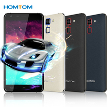 HOMTOM HT30 Smartphone 3G MTK6580 Quad Core 5.5 Inches 1280*720  Android 6.0 1GB+8GB 5MP+8MP Dual Cameras 3000mAh Mobile Phone