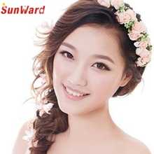 SunWard  Beautiful Wedding Party Prom Flower Garland Bride Headband Hairband Hair Accessories Festival Decor*11