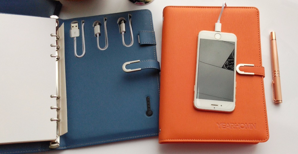 Notebook With Powerbank  With USB<br>