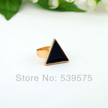 Trendy Statement Triangle Shape Fashion Small Rings
